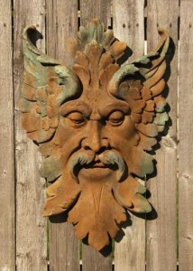 Ancient Florentine Man- Garden Wall Plaque