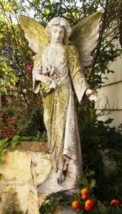 Angel of the Garden Statue