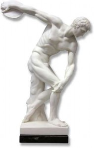 Discus Thrower Sculpture