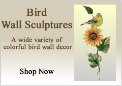 Bird Wall Sculptures