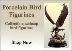 Porcelain Bird Figurines