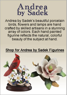 Andrea by Sadek Porcelain Figurines