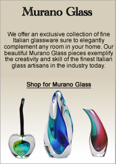 Murano Glass Sculptures and Decor