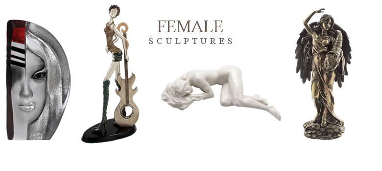 Female Statues at AllSculptures.com