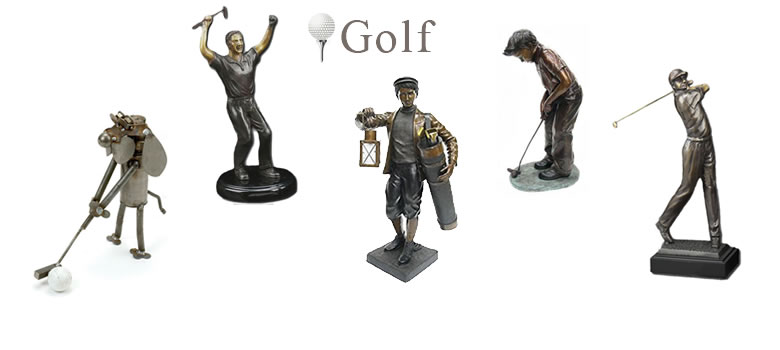Golf Statues and Sculptures