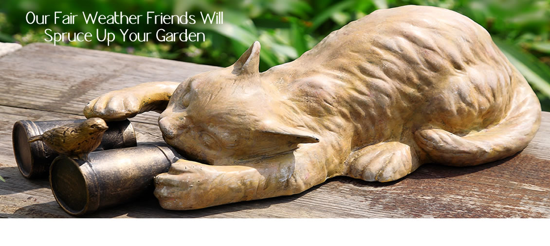Garden Sculptures for Spring