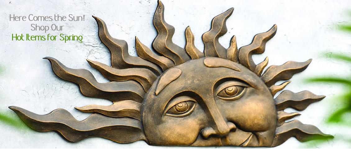 Spring Garden Sculptures
