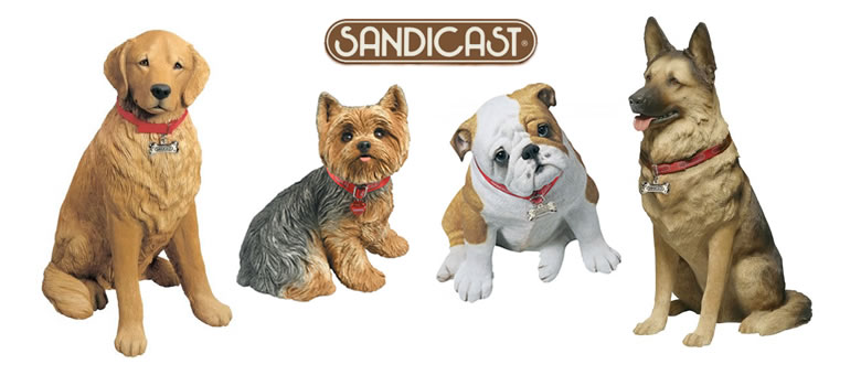 Sandicast Dog Statues