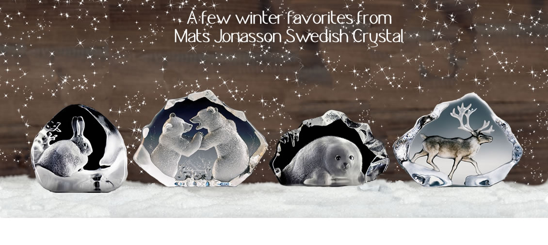 Beautiful Crystal Gifts by Mats Jonasson