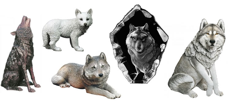 Wolf Statues and Sculptures