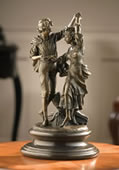 Young Couple Dancing- Bronze Statue