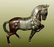 Bronze Tang Horse Sculpture