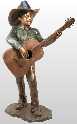 Little Cowboy with Guitar
