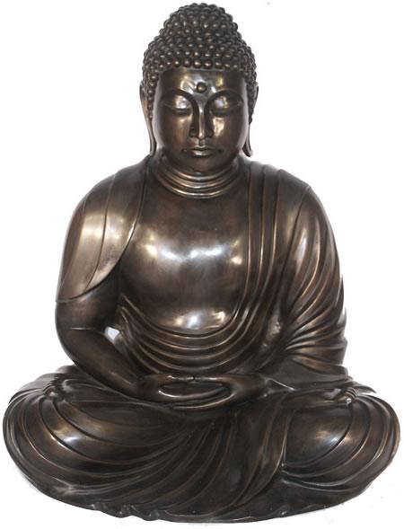 Bronze Japanese Buddha Statue Bronze Ba 1568