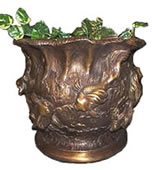 Bronze Goldfish Planter