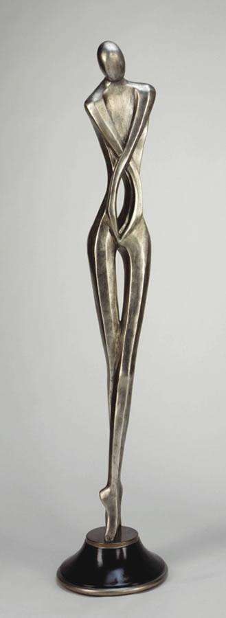 Essence Of Being II- Modern Male Floor Sculpture, Artmax