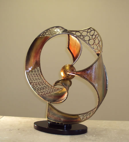 Celestial Modern Table Sculpture