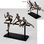Competition- Hurdlers Sculpture