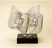 Contempo Modern Metal Sculpture