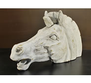 Horse Head Sculpture by Attila