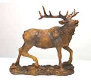 Elk Sculpture by Attila