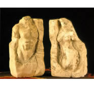 Male/Female Torso Bookends