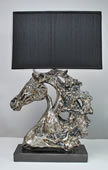 Stallion Horse Sculpture Lamp by Attila