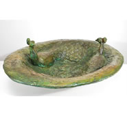 Peacock Bowl by Attila