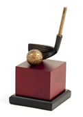 Golf Club Head Sculpture- 9 Inch
