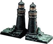 Lighthouse Bookends
