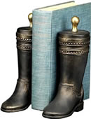 Western Boot Bookends