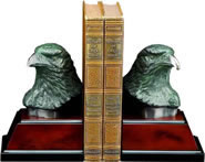 Eagle Bust Bookends
