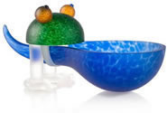Frosch the Frog Bowl, Blue- by Borowski