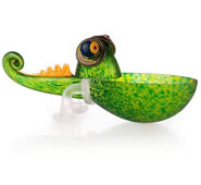 Chameleon Bowl, Small/Green- by Borowski