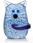 Tom the Cat Paperweight, Blue- by Borowski