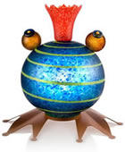 Froggy, Lighted/Blue- by Borowski