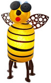 Suzy Bee, Lighted Yellow/Black- by Borowski