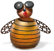 Biene the Bee Table Lamp, Amber- by Borowski