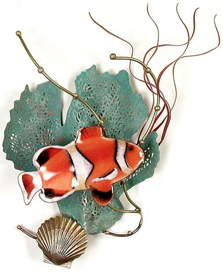 Anemone Fish with Sea Fan