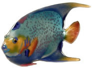 Queen Angelfish Wall Sculpture