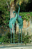 Crane Pair Fountain-Extra Large