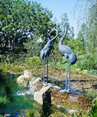 Crane Pair Extra Large Fountain
