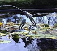 Leaping Frog Fountain-Medium