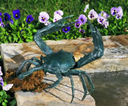 Crab Fountain