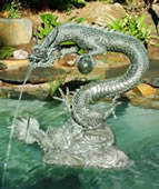 Water Dragon Fountain, Large