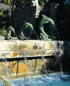 Single Dolphin Fountain-Large