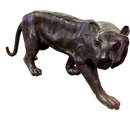 Bengal Tiger Bronze Sculpture