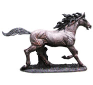 Bronze Horse Sculpture, Extra Large