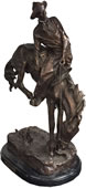 The Outlaw Bronze Cowboy/Western Statue