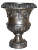 Bronze Urn with Grapevine Design